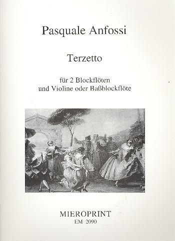 Terzetto: für 2 Sopranblockflöten und Violine (Bassblockflöte)