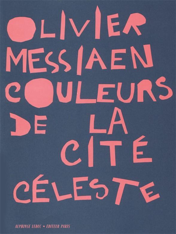 Couleurs de la cité céleste: partition de poche (1963)