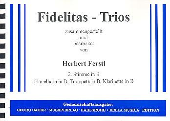 - Fidelitas-Trios : 2. Stimme in B