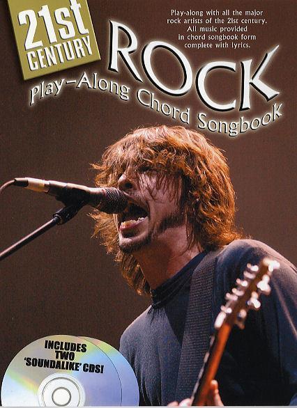 21st century Rock (+CD): Chord songbook