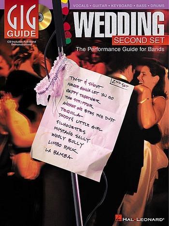 Gig Guide Wedding Set vol.2 (+CD): the performance set for bands