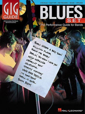 Gig Guide Blues Set (+CD): the performance set for bands