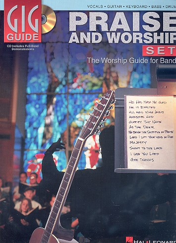 Praise and Worship Set (+CD): the worship guide for bands
