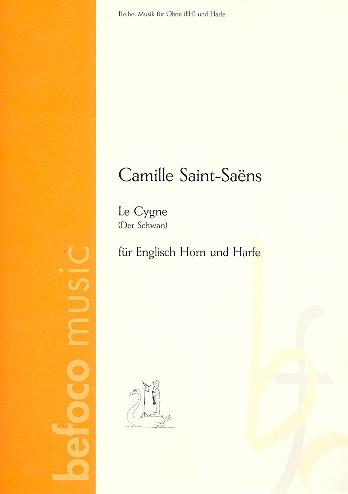 Der Schwan: für Englisch Horn und Harfe