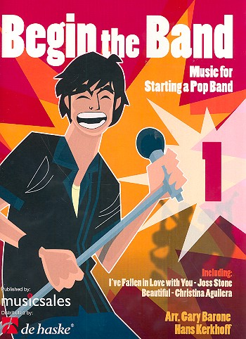 Begin the Band: Partitur und Stimmen