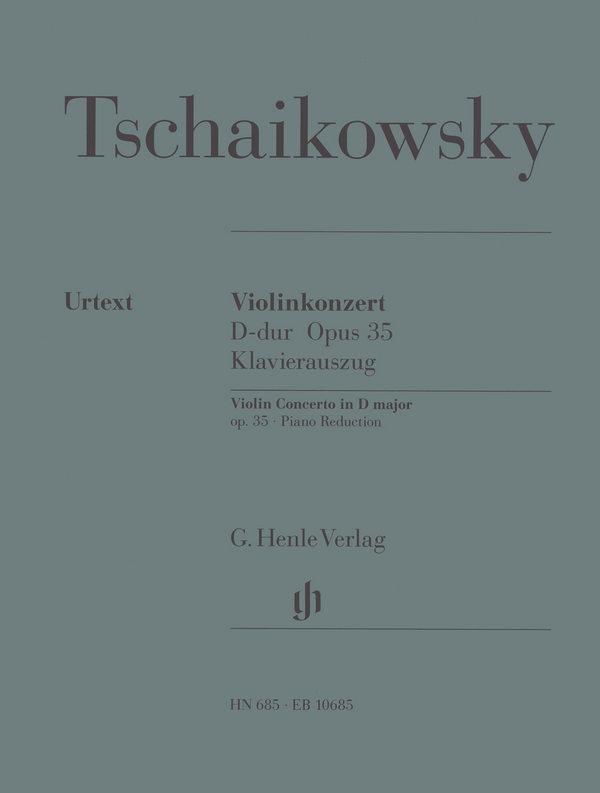 Tschaikowsky, Peter Iljitsch - Konzert D-Dur op.35 für Violine und