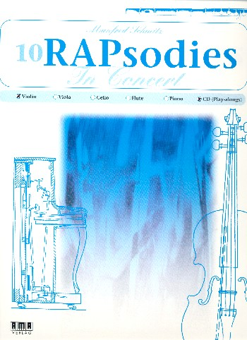 10 RAPsodies in Concert (+CD): für Violine
