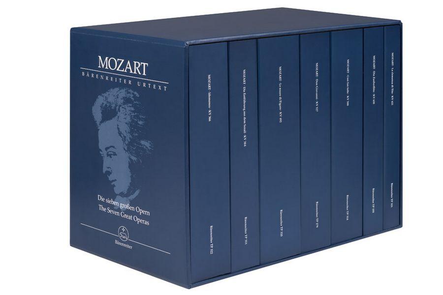 Die 7 großen Opern: 7 Studienpartituren im Schuber