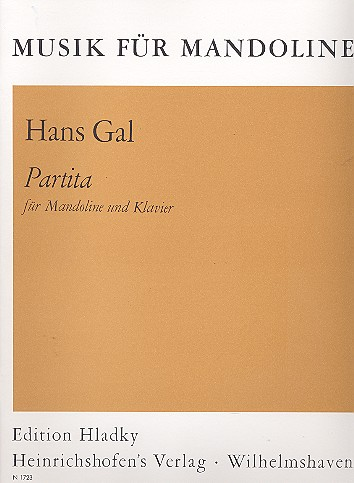 Partita: für Mandoline und Klavier