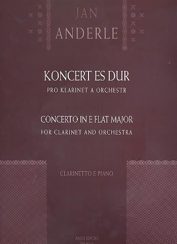 Konzert Es-Dur: für Klarinette und Klavier