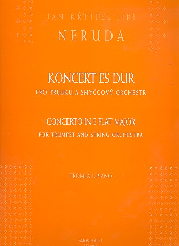 Konzert Es-Dur für Trompete und Streichorchester: für Trompete