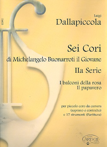 6 cori di Michelangelo Buonarroti il Giovane vol.2 (2 cori):