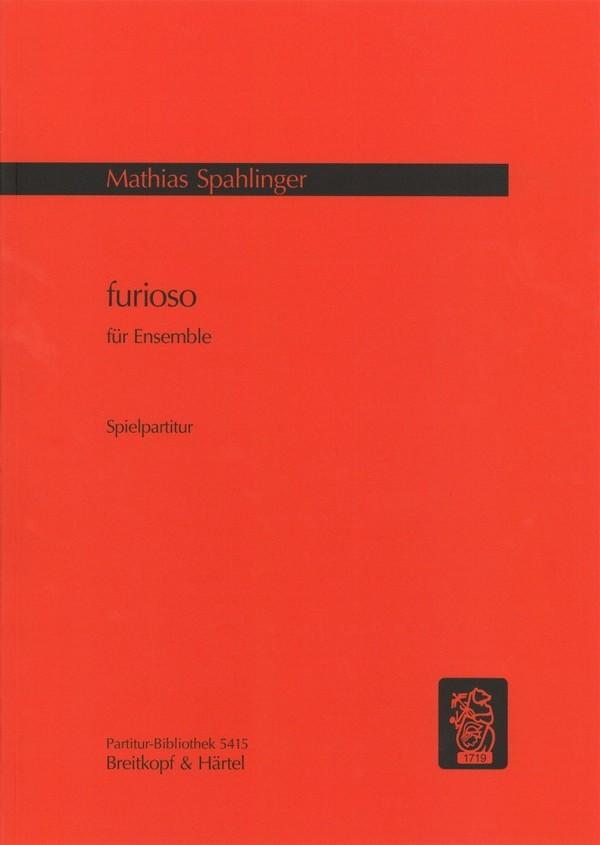 Furioso: für Orchester Studienpartitur