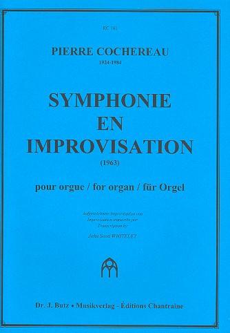 Symphonie en Improvisation: pour orgue