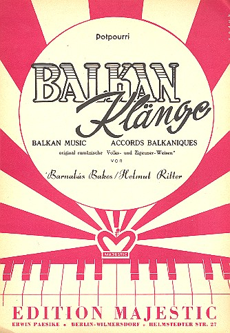Balkan-Klänge: Potpourri für Klavier