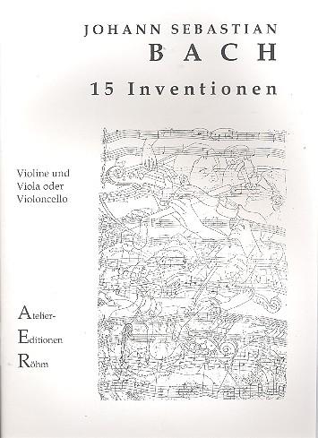Bach, Johann Sebastian - 15 Inventionen BWV772-786 : für