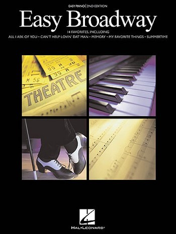 Easy broadway: 14 favorites for easy piano