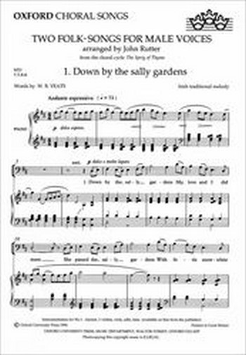 2 folk-songs: for male chorus and piano