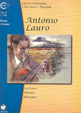 Works for guitar vol.8: La Gatica, Momoti and