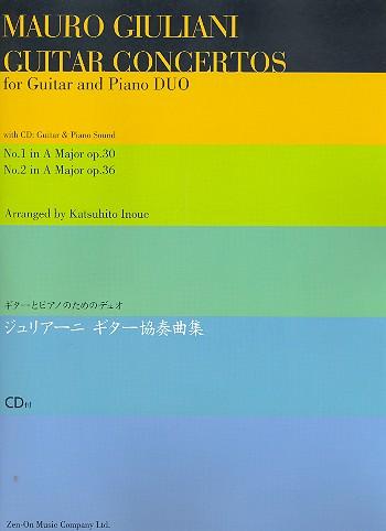 Concerto A major op.30  and Concerto A major op.36 (+CD):