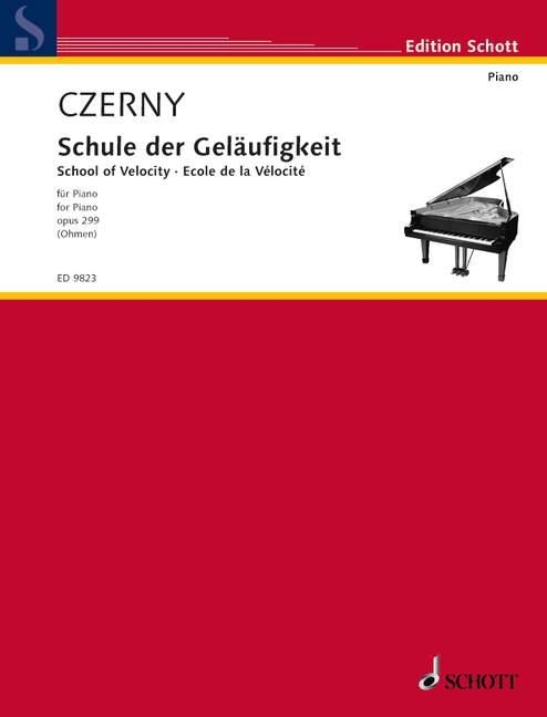 Schule der Geläufigkeit opus.299: für Klavier
