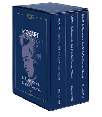 Die Klavierkonzerte: Studienpartitur (3 Bände im Schuber)