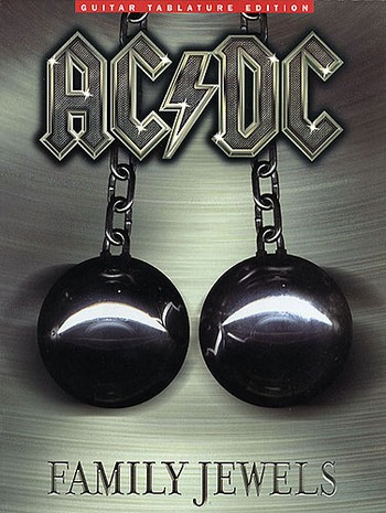 AC/DC: Family Jewels songbook for voice/guitar/tab