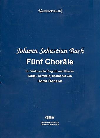 Bach, Johann Sebastian - 5 Choräle :