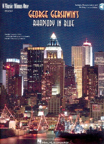 Music minus one piano (+CD) : Rhapsody in blue