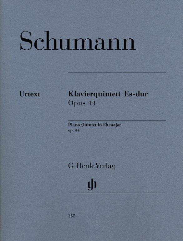 Schumann, Robert - Quintett Es-Dur op.44 : für Klavier,