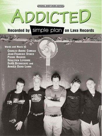 Addicted: Einzelausgabe piano/voice/guitar