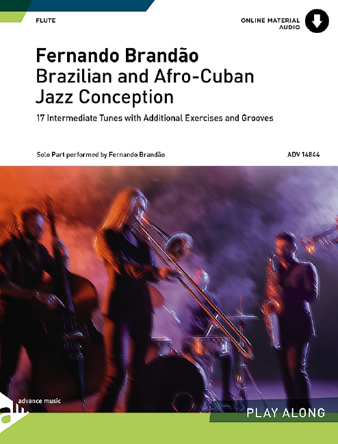 Brazilian and Afro Cuban Jazz Conception (+CD): for flute