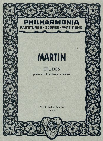 Etudes: pour orchestre a cordes Studienpartitur