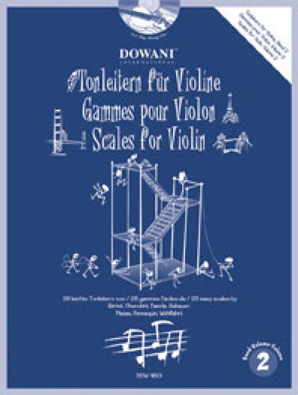 - Tonleitern/Etüden für Violine Band 2 (+CD)