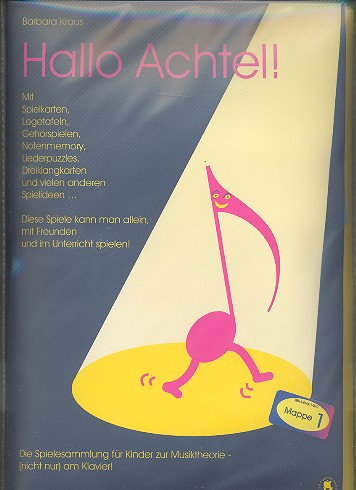Kraus, Barbara - Hallo Achtel Mappe 1 : für Anfänger
