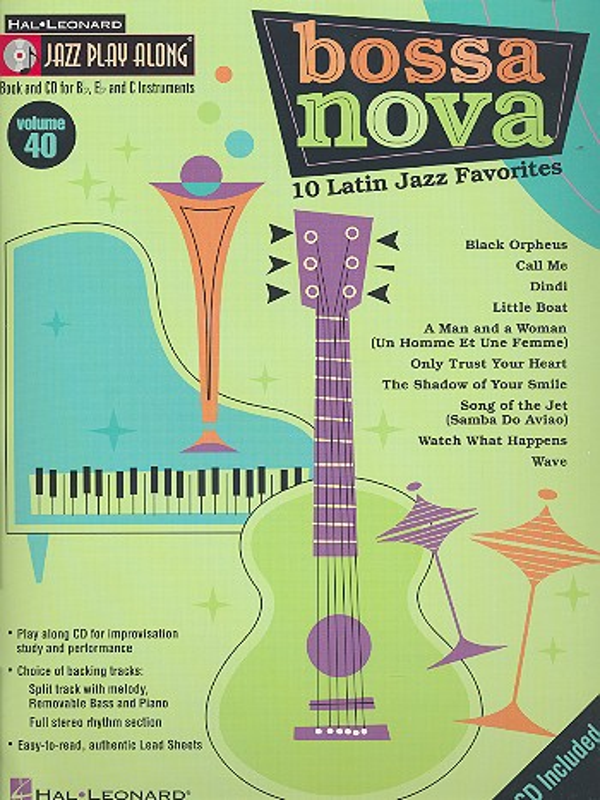 Bossa Nova - 10 Latin Jazz Favorites (+CD): for Bb, Eb and C instruments