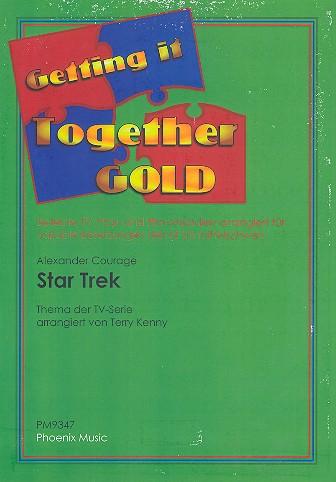 Star Trek: theme from the TV für variable Besetzung ( leicht bis mittelschwer)