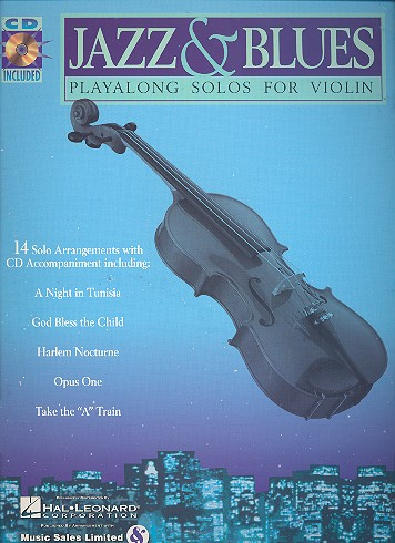 Jazz and Blues (+CD): Playalong solos for violin