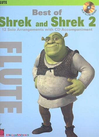 Best of Shrek and Shrek 2 (+CD): for flute