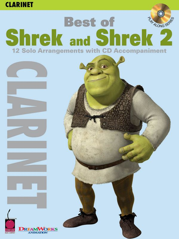 Best of Shrek and Shrek 2 (+CD): for clarinet