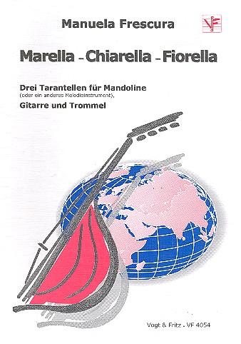 3 Tarantellen: für Mandoline, Gitarre und Trommel
