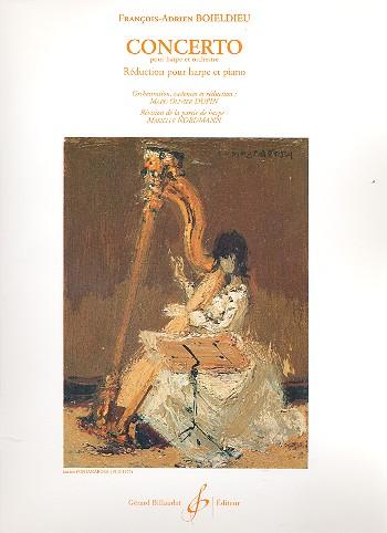 Concerto pour harpe et orchestre: pour harpe et piano