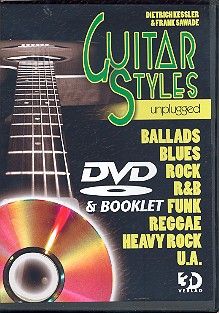 Guitar Styles unplugged: DVD and Booklet