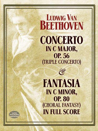 Konzert C-Dur opus.56: für Klavier, Violine, Violoncello und Orchester