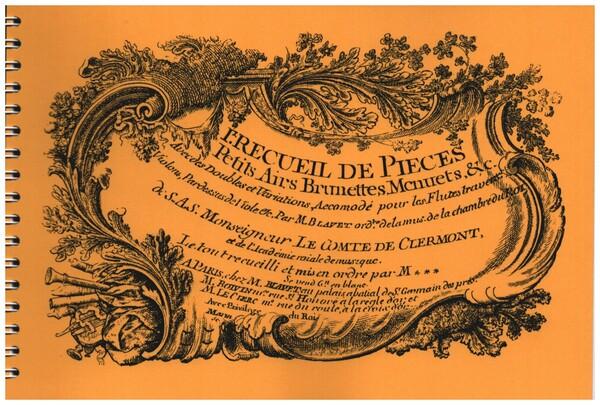 Blavet, Michel - Premier recueil de pièces, petits