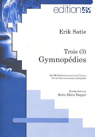 3 Gymnopedies: für C-Instrument und Gitarre