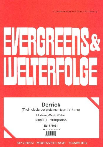 Derrick Titelmelodie: für Klavier