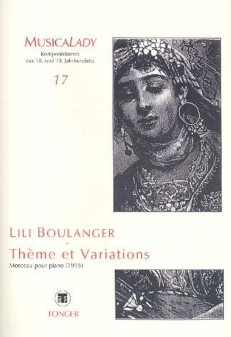 Boulanger, Lili - Thème et Variations :