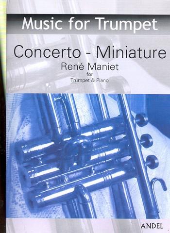 Concerto-miniature: für Trompete und Klavier