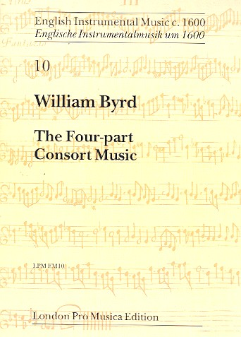 Byrd, William - The 4-Part Consort Music